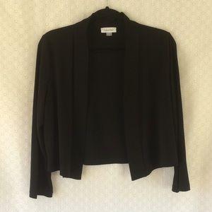 Calvin Klein Black Shrug/Jacket